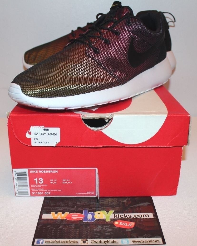Nike Air Roshe courir One Chameleon Fade Tour Yelfaible Sneakers homme