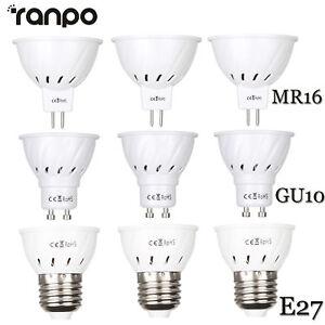 LED-Luces-de-FOCO-BOMBILLA-E27-GU10-MR16-3w-5w-7w-2835SMD-Blanco-Lampara