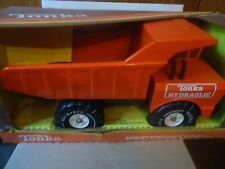 TONKA RED HYDRAULIC DUMP TRUCK IN BOX