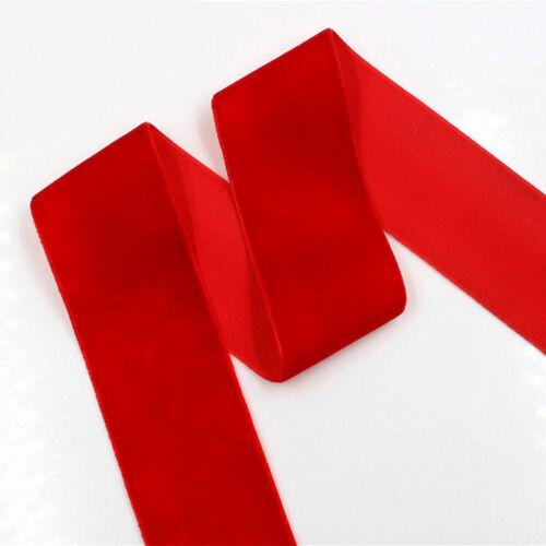 2yards Velvet Ribbon Trim DIY Handmade Hair Band Accessories Material Wrap Decor