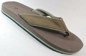 baaed7dd5 NEW Men s VINTAGE STONE GRAY STONE Comfort Thongs Flip Flops Sandals ...