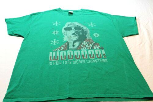 Ric Flair  WCW WWF NWA Woooooo Is How I Say Merry
