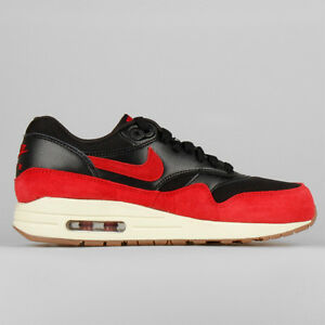 air max 1 black red sail