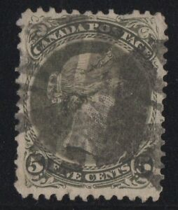 MOTON114-26iv-Large-Queen-5c-Canada-used-well-centered-cv-270
