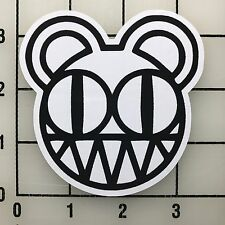 "Radiohead Bear Logo 3.25"" Wide Multi-Color Vinyl Decal Sticker - BOGO"