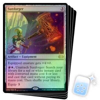 Magic MTG NearMint Sunforger ~ Double Masters