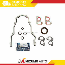 Ls Timing Chain Cover Water Pump Gaskets Amp Main Seal Gm Ls1 Ls2 Ls3 Ls6