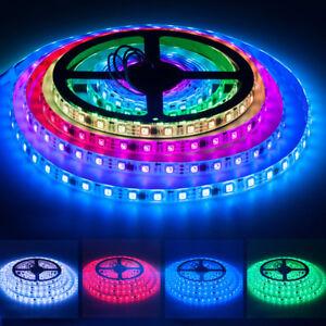 WS2811-Led-Strip-Stripe-mit-5M-150-300-leds-RGB-color-5050-SMD-DC12V-IP30-65-67
