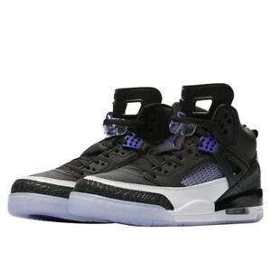 Men s Air Jordan Spizike Black Dark Concord White Sizes 8-13 NIB ... 4fa2c693a