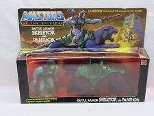 MOTU,Vintage,BATTLE ARMOR SKELETOR & PANTHOR,Masters of the Universe,MISB,Sealed