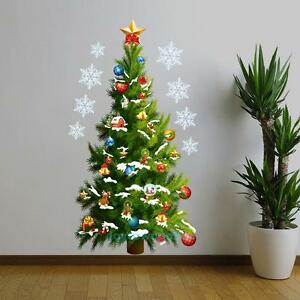Image Is Loading Large Removable Decal Mural Christmas Tree Home Living  Part 65