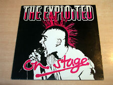 EX/EX !! The Exploited/On Stage/1985 Castle Communication LP