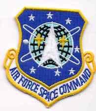 "Stargate SG-1 Air Force Space Command Logo 3"" Uniform Patch- FREE S&H(SGPA-07)"