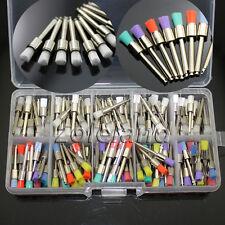 200 Pcs Nylon Latch Flat Dental Polishing Polisher Prophy Brush White Amp Colorful