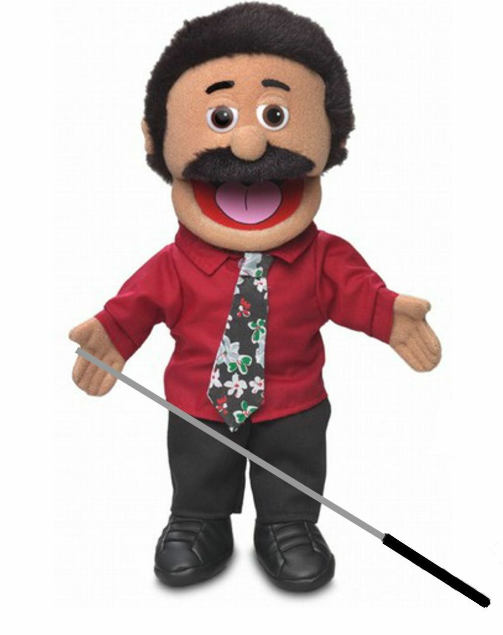 Silly Puppets Carlos Puppet Bundle 14 inch with Arm Rod