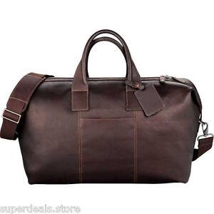 Colombian Leather Weekender Duffel Bag