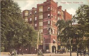 Atlanta-GEORGIA-Aragon-Hotel-ARCHITECTURE-1910-horse-amp-buggy