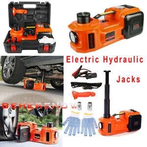 Car-Electric-Jack-Hydraulic-Floor-12V-DC-5-Ton-Tire-Inflator-Pump-Tire-Change