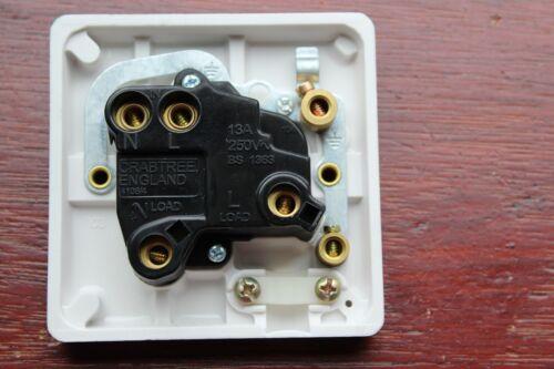 """Crabtree Capitol 4827 Blanc 13 A DP fondu connexion commutée unité pompe/""""/"""""""