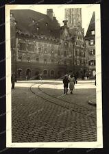 Foto-Ulm-Gebäude-Architektur-Soldat-Offizier-Beobachterabzeichen-1.WK-1941-47