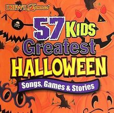 The Hit Crew 57 Kids Greatest Halloween: Songs Games CD