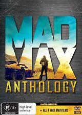 Mad Max Anthology (DVD, 2015, 4-Disc Set) R/4 = GENUINE NO FAKE