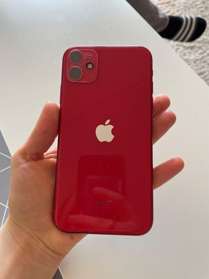 iPhone 11, 128 GB, rød