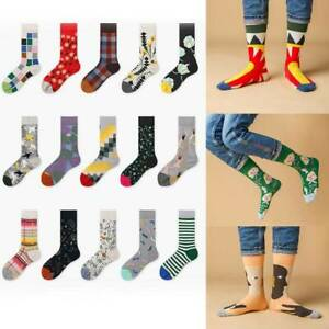 Retro-Women-Art-Van-Gogh-Mural-Painting-Series-Male-Socks-Oil-Funny-Socks-Hot