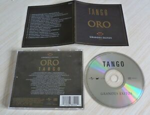 RARE-CD-ALBUM-COMPILATION-GRANDES-EXITOS-ORO-TANGO-16-TITRES-2002