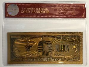 1-Billion-Dollar-Bill-24K-Gold-3D-Overlay-Banknote-With-COA