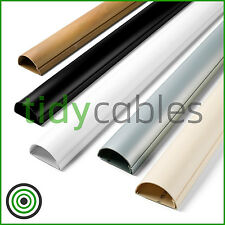 D-Line 50x25 TV Cable Tidy Cover Wire Hide Trunking 25cm, 50cm, 75cm, 90cm