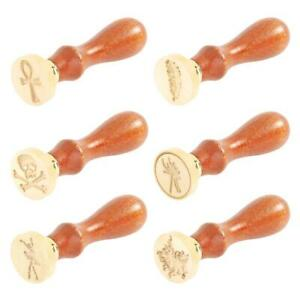 Retro-Letter-Envelope-Wax-Seal-Stamps-Wooden-Handle-Sealing-Wax-DIY-Crafts-Best