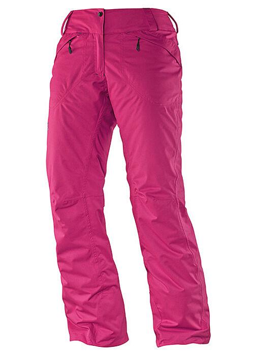 Ski-   Snowboardhose, Snowpant, Salomon Express Pant W, pink, AdvancedSkin Dry