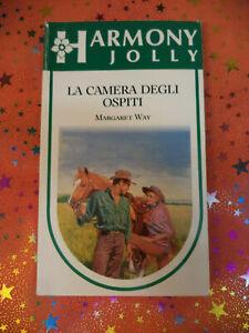 Libro Book LA CAMERA DEGLI OSPITI Margaret Way 1995 HARMONY JOLLY 1007 (L33)