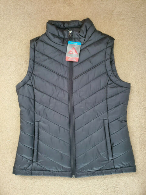 Columbia Women's Morning Light III Omni Heat Vest Black Sz ...