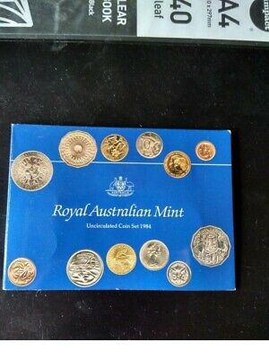as issued by The Royal Australian Mint 1990 Australia Uncirculated Coin Set