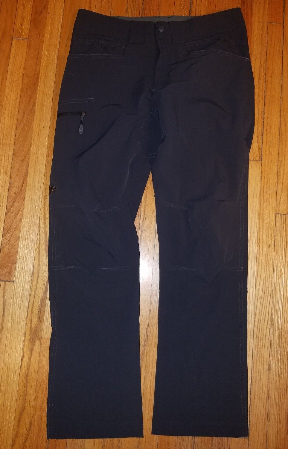 Men's Outdoor Research Voodoo pants in charcoal size  30  up to 60% off