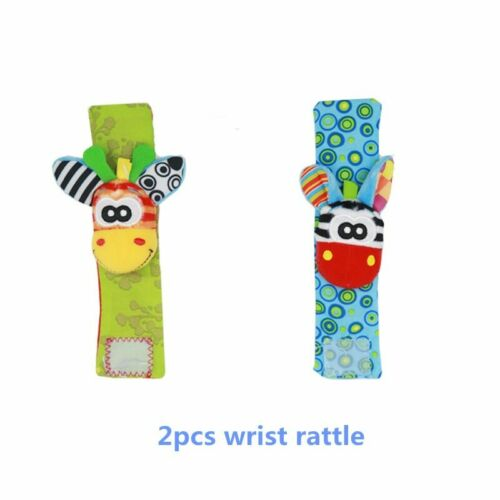Infant Baby Kids Socks rattle toys Wrist Rattle and Foot Socks 0~24 Months 20/%