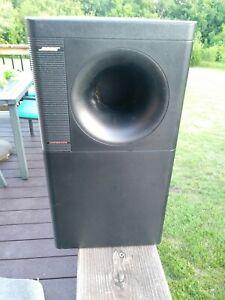 Bose Acoustimass 7 Subwoofer Black Hi-Fi & Home Audio Speakers xn ...