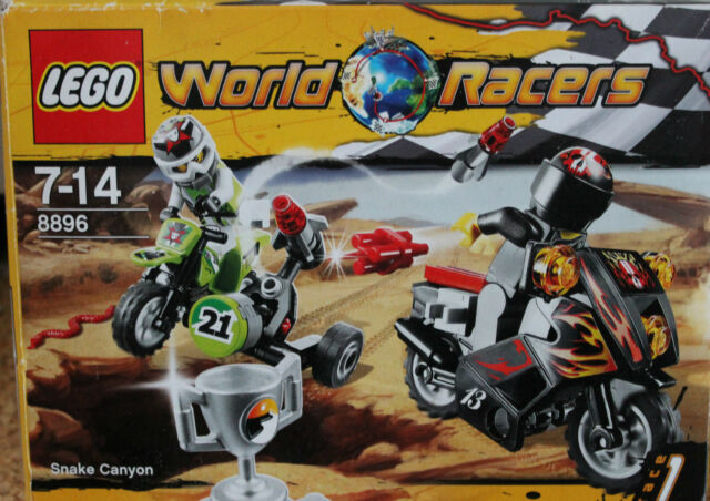 LEGO World Racers Duell in der Schlangen-Schlucht (8896)