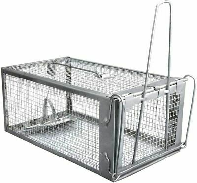 Opossum Possum Trap For Cats Ferral Mole Vole Racoon Rabbit Live Cage No Killing
