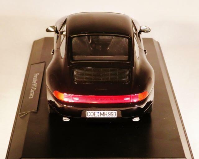 1:18 Norev Porsche 911 993 Carrera Convertible  1993 black