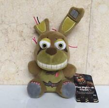 "New FNAF Five Nights At Freddy's Springtrap BUNNY 6"" Plush Toy Doll Gifts"