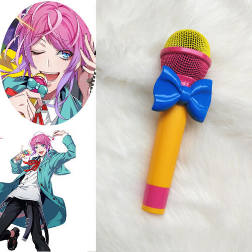 Hypnosis Mic Division Rap Battle  Ramuda Amemura Easy R Microphone Cosplay Prop