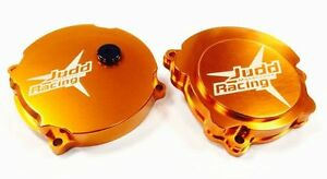 OFFER-KTM-SX50-TC50-Clutch-Cover-With-Adjustment-Judd-Racing-Orange