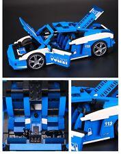 """Racers Lamborghini Gallardo LP 560-4 Polizia #8214 """"Lego Compatibile"""""""