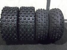21x8-9 & 22x10-10 ATV TIRE SET (All 4 Tires) Kawasaki Bayou 220 / Bayou 250