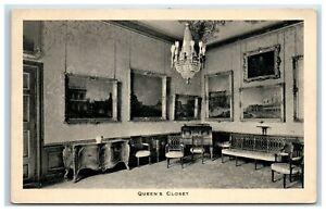 Tuck-039-s-Picture-Postcard-Windsor-Castle-Queen-039-s-Closet