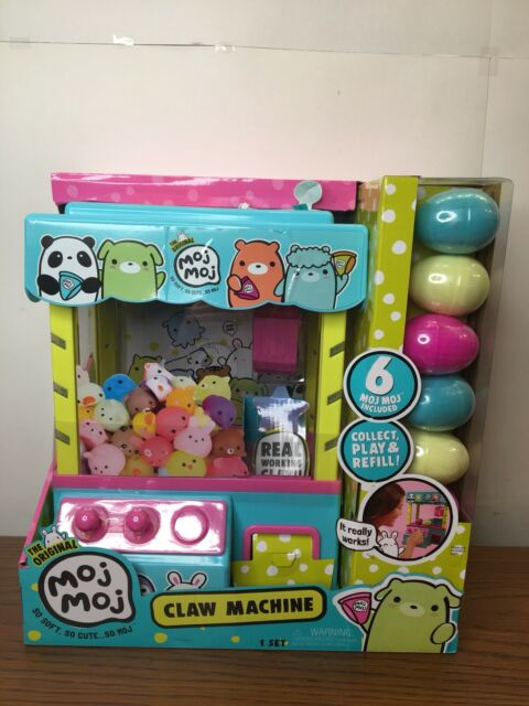 The Original Moj Moj Claw Machine With 6 Squishies In Eggs ...