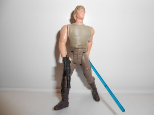 STAR WARS 1995 POTF style vintage Luke Skywalker Dagobah Gear ~ long sabre laser